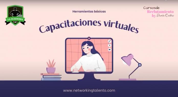"""La Academia – Masterclass """"Herramientas básicas para impartir capacitaciones virtuales"""""""
